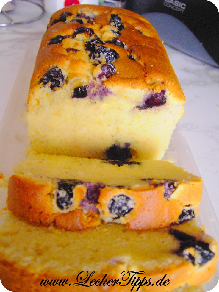 Heidelbeer-Joghurt-Butter-Kuchen (Blueberry Yogurt Butter Cake)