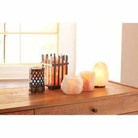 Himalayan Glow Salt Crystal Lamps & Candleholders http://www.michaels.com/floral-and-decor/candles-and-fragrances/809188322#prefn1=brand&pmpt=qualifying&prefv1=Himalayan%20Glow