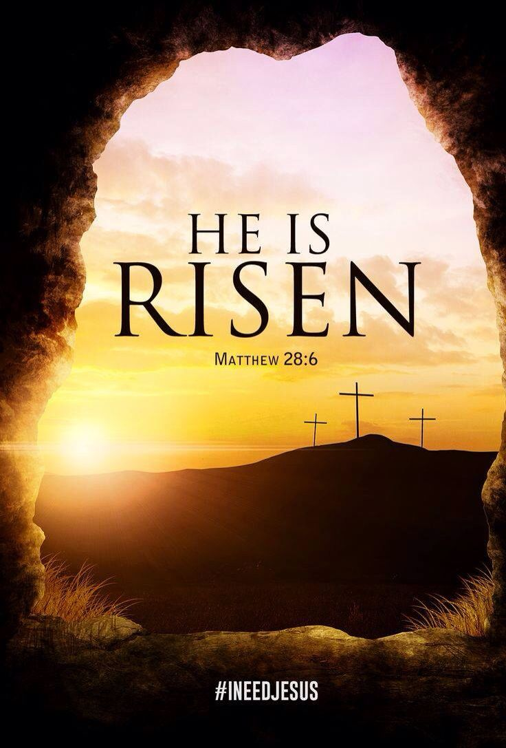 He is Risen! Well, now that the Antichrist has been elected, I pray we get to see him again....