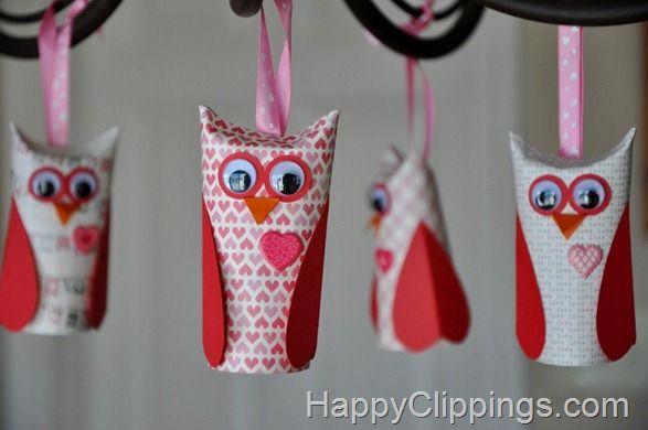 10 Adorables bricolages de Saint-Valentin pour enfants, à faire avec des rouleaux de papier! - Bricolages - Des bricolages géniaux à réaliser avec vos enfants - Trucs et Bricolages - Fallait y penser !