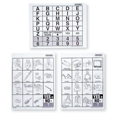 Stroke Communication Board | Expressive and Receptive Aphasia After Stroke