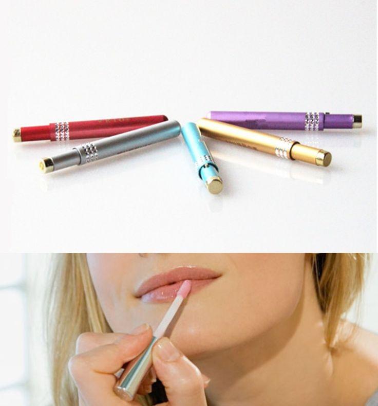 10pcs Colorful Mini Lip Brush Women Lip Brush MakeUp Portable Retractable Cosmetic Lip Brush Lipstick Gloss Beauty Tools Brushes