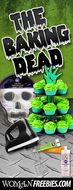 #Repin and Enter to #Win Our Newest #Contest! We Have a #Spooky #Baking Pack to Give Away! #Halloween #boo #sweeps VALID UNTIL NOV 1