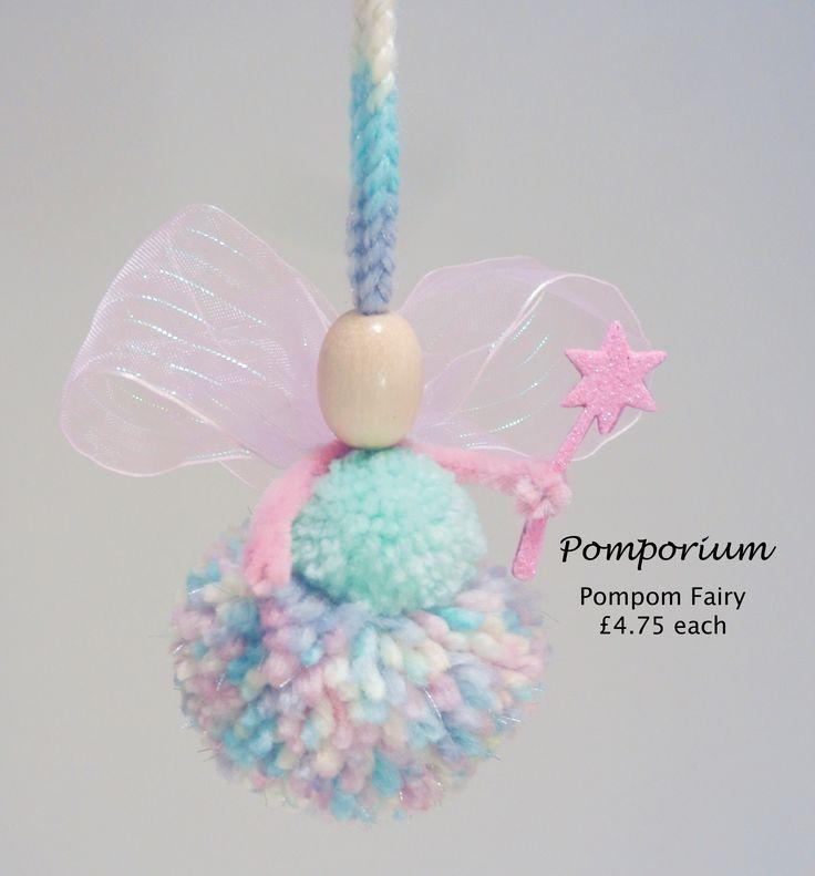 Pom Pom Fairy by Kristi Pickup - Pomporium