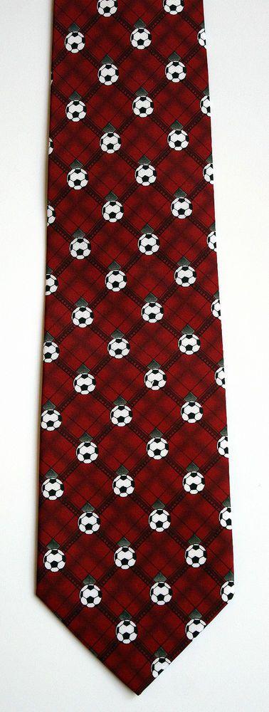 New Soccer Balls Mens Necktie Football Sport Ball World Cup FIFA Sports Neck Tie #Parquet #NeckTie