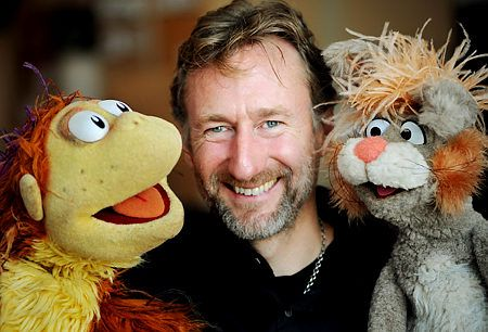 Brian Henson (American puppeteer, director, producer, and the chairman of the Jim Henson Company. The son of puppeteers Jim and Jane Henson of the Muppets) was born November 3, 1963