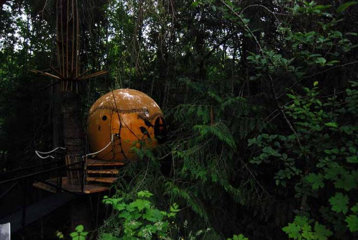 Free Spirit Spheres on Vancouver Island