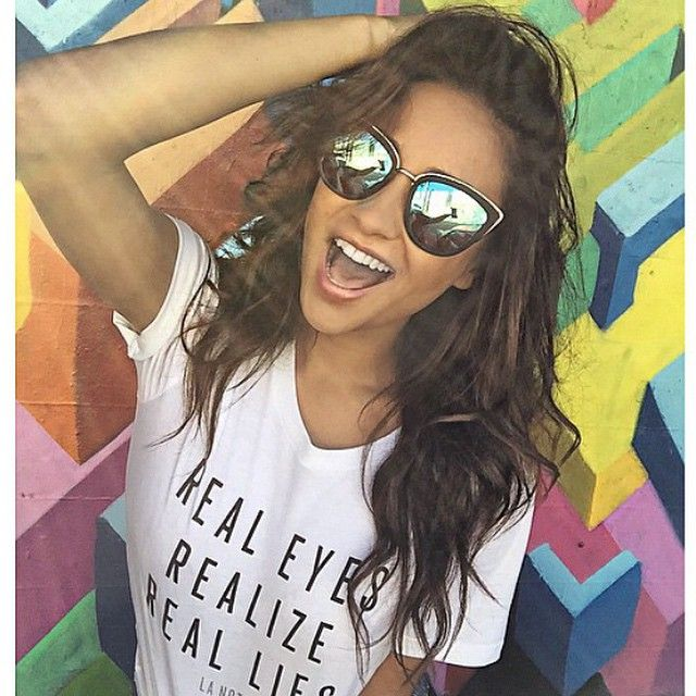 #BBFEST #beginningboutique Quay Sunnies! My girl - Perfect for Splendour, because who doesn't wear sunnies to a festival? Best sunnies I've ever brought x
