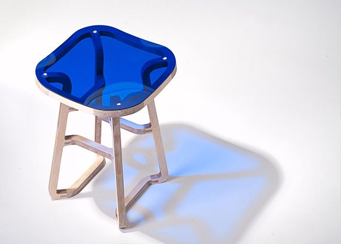 Beautiful Hot Off The Presses (via This Morningu0027s Email) Comes The Latest From Bakery  Design. Conceived By Gilli Kuchik And Ran Amitai, Woodini Is An Innovative  Stool ...