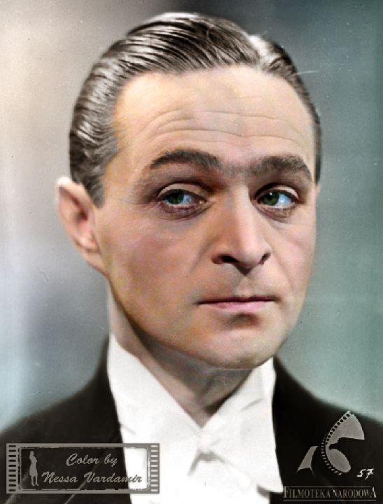 Adolf Dymsza w moich kolorach.