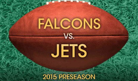 Jets vs. Falcons Preseason NFL as low as $25 on GoldStar