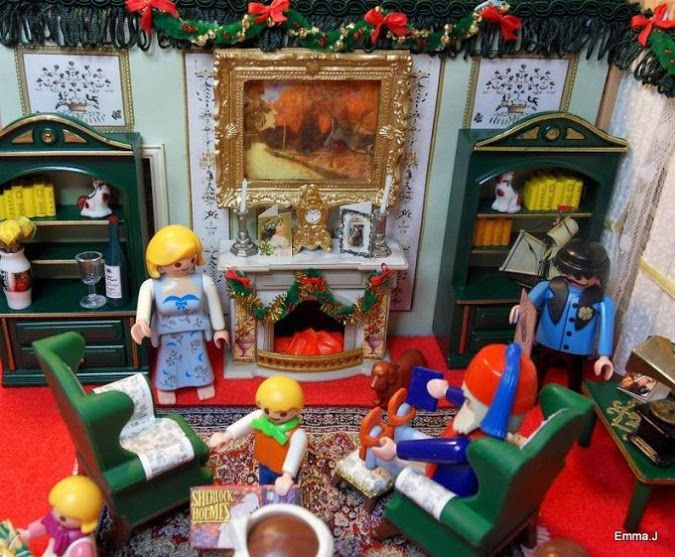 1000 images about playmobil victorian on pinterest for Playmobil living room 4282