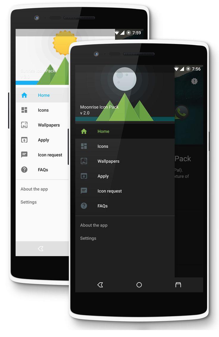 Moonrise Icon Packs | MSite Studio