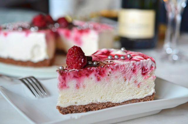 Tasty Health: Årets nyårsdessert - Frozen raspberry cheesecake