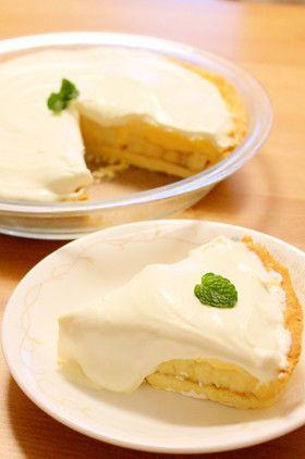アメリカ発☆バナナクリームタルト by Sono*san [クックパッド] 簡単おいしいみんなのレシピが239万品
