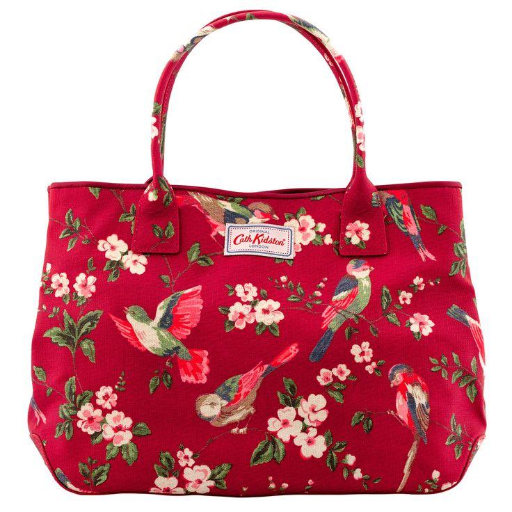 British Birds Embossed Handbag Tote   Cath Kidston  