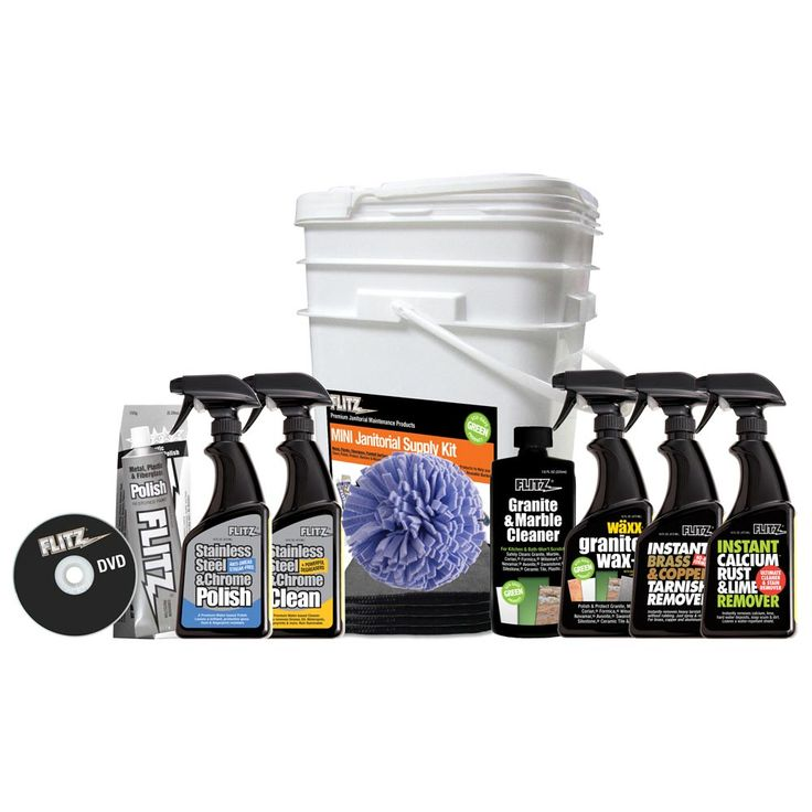 Flitz Mini Janitorial Supply Cleaning Kit - https://www.boatpartsforless.com/shop/flitz-mini-janitorial-supply-cleaning-kit/