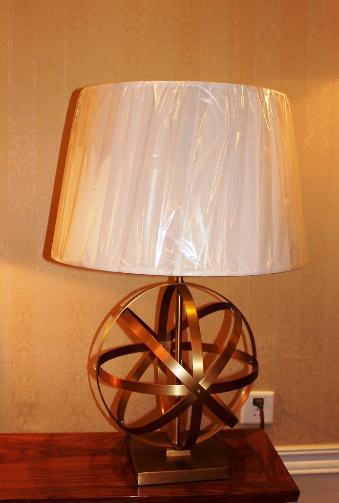 лампа 01-12 латунь ( BRITISH LIGHTS)