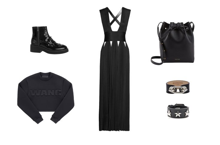 Must have black items for this winter! http://EzzentricBlog.com  #alexanderwang #hm #ash_worldwide #balenciaga #givenchy #mansurgavriel