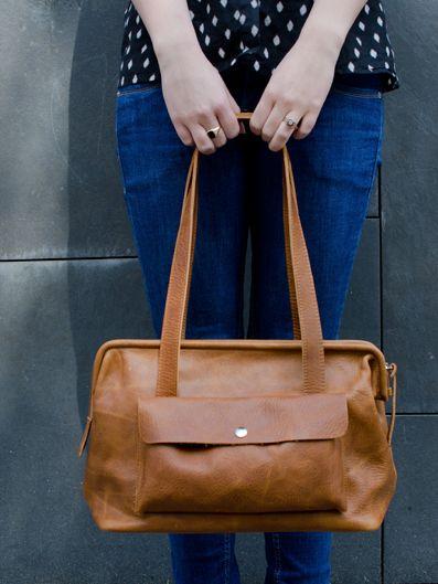 Keecie Bag Roomservice Cognac - Keecie - BijzonderMOOI* Dutch design online