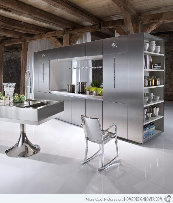 12 Best Metal Kitchen Cabinet Ideas Images On Pinterest  Kitchen Gorgeous Famous Kitchen Designers Design Inspiration