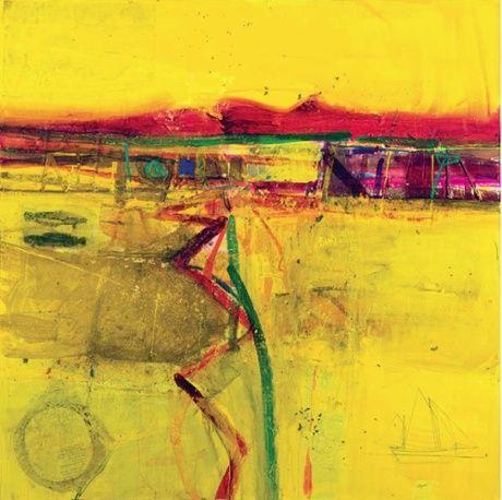 Yellow Tide - Achill - Barbara Rae 2010