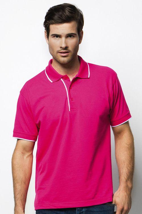 Tricou polo Essential Kustom Kit din 65% poliester şi 35% bumbac pique #tricouri #polo #personalizate #barbati #promotionale #brodate
