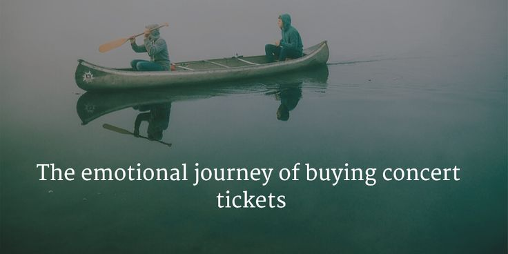 The emotional journey of buying concert tickets