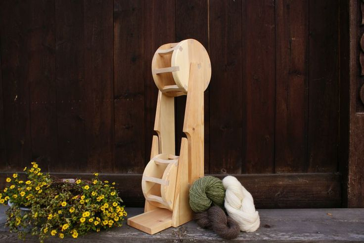 Yarn winder #Woodworking
