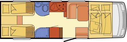 Wohnmobil Dethleffs Esprit I 7150 EB - SAT/TV/Markise/Fahrradträger - ID: AVHC1929829 #Dethleffs #Esprit #I 7150 EB #Wohnmobil - Caravans - Wohnwagen & Reisemobile