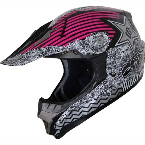 High Quality DOT Dirt Bike ATV Motocross Helmet Pink 127 (M)