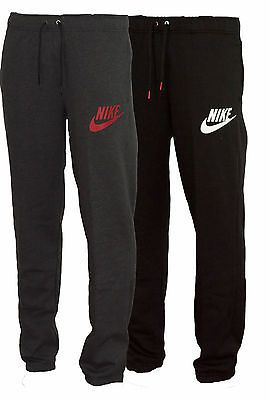 New Mens Nike Fleece Joggers, Tracksuit Bottoms, Track Sweat Jogging Pants