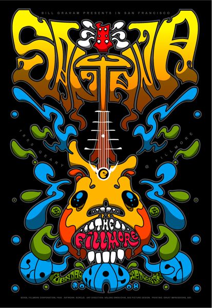 Santana ~ The Fillmore