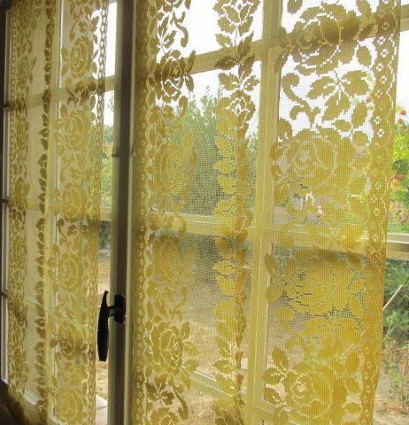17 best ideas about yellow kitchen curtains on pinterest   shelf