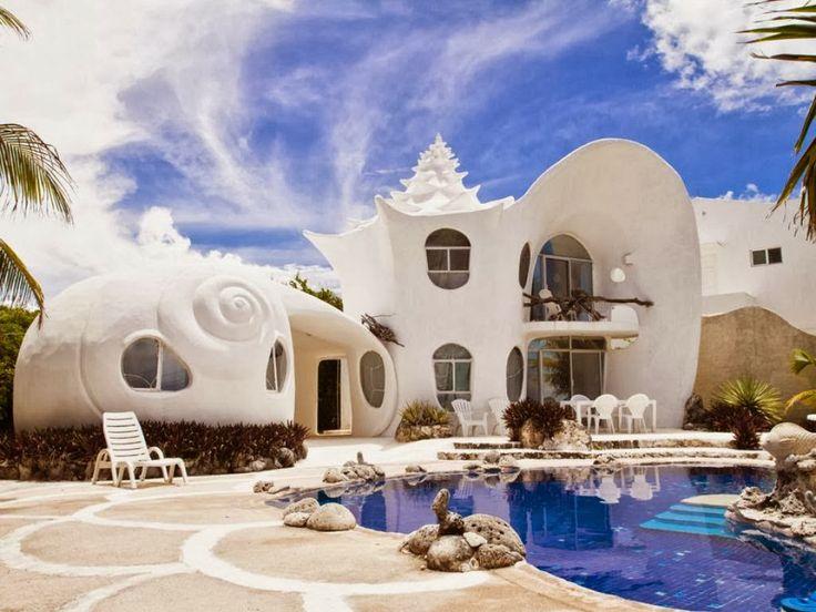 Conch Shell House Isla Mujeres, Mexico