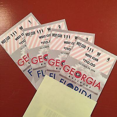#tickets Georgia Bulldogs vs Florida Gators Football Tickets 10/29/16 (Jacksonville) please retweet