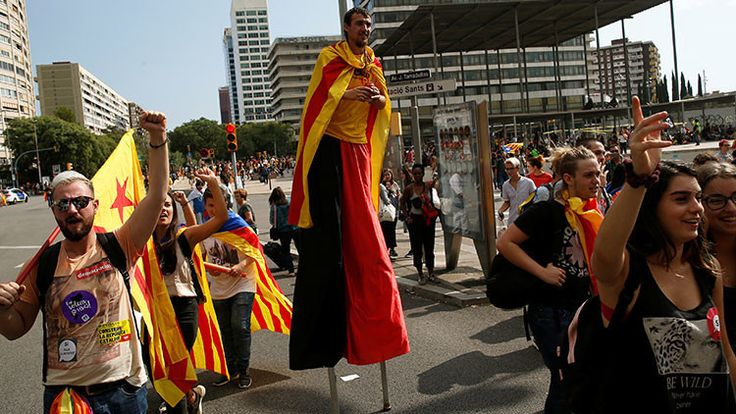 ICYMI: Estudiantes de Cataluña reivindican su derecho a votar en el referéndum prohibido
