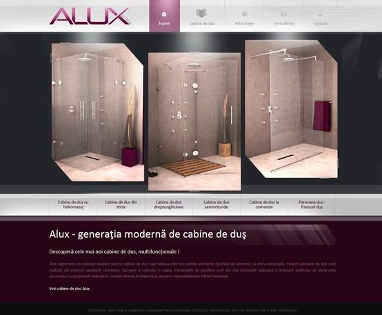 Web design & development - ALUX