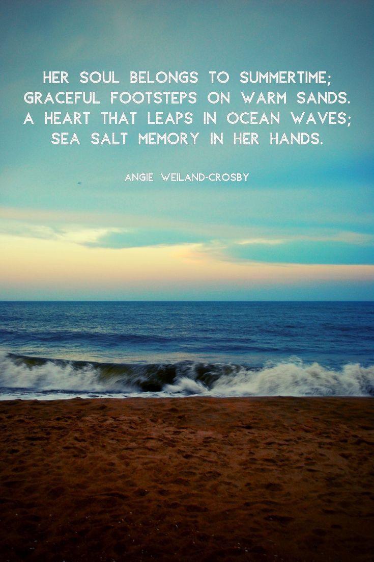 Ocean Quotes Soul Summer Beach Quotes Ocean Quotes Inspirational Beach Quotes Inspirational