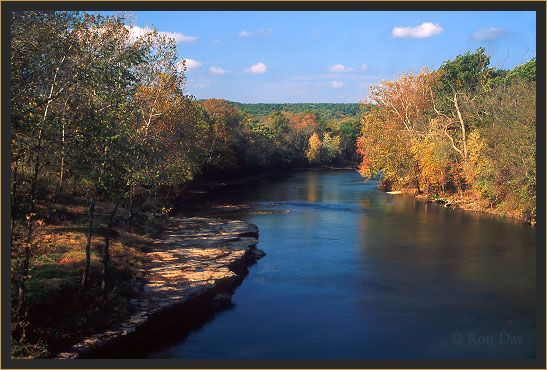 Eagle Bluff, Illinois River, Oklahoma. Enjoyed many float trips down this lovely river.