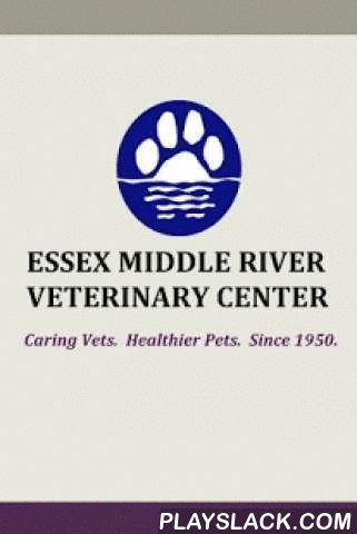 EMRVC Vet  Android App - playslack.com ,  The Essex Middle River Veterinary Center has served the greater Baltimore area for over 50 years. We have great pride in our legacy. We have been and will always be committed to the well-­‐being of our patients, the challenge of their illnesses, and the concerns of our clients.---ABOUT THE APPThe app is both fun and functional and it's FREE to download.Pet Postcards (pet photo sharing) are fun to use and the app makes it easy to create postcards of…