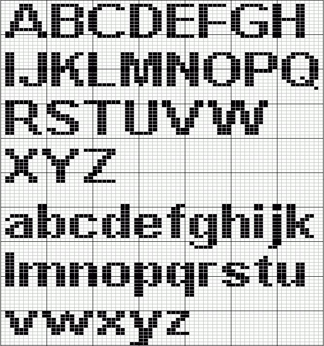 Knitting Letters Template : Best images about knitted alphabets on pinterest