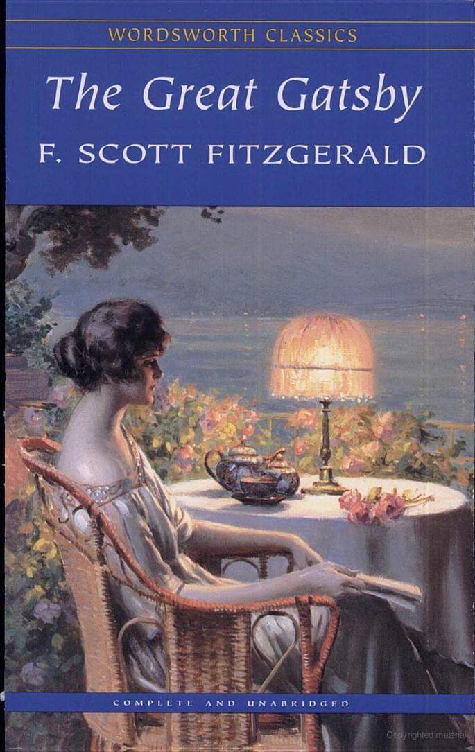An assessment of the novel the great gatsby by f scott fitzgerald