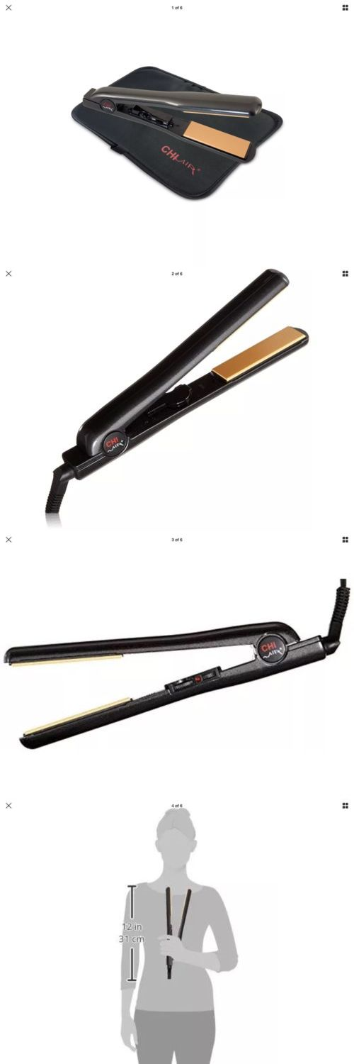 Hair Beauty: Chi Air Expert Classic Tourmaline Ceramic Hair Straightener Flat Iron 1 Inch New BUY IT NOW ONLY: $67.0