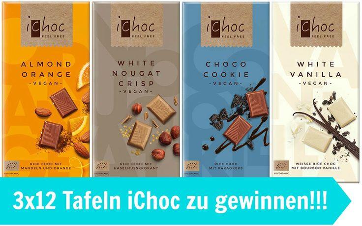 iChoc: die neue vegane Milch-Schokolade + Gewinnspiel
