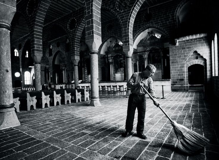 """The church of Sourp Giragos, in old Diyarbakir, fell into ruins after 1915. A few years ago, the town rebuilt it. """"Our grandparents,"""" the mayor said, """"committed wrongs, but we, their grandchildren, will not repeat them."""""""