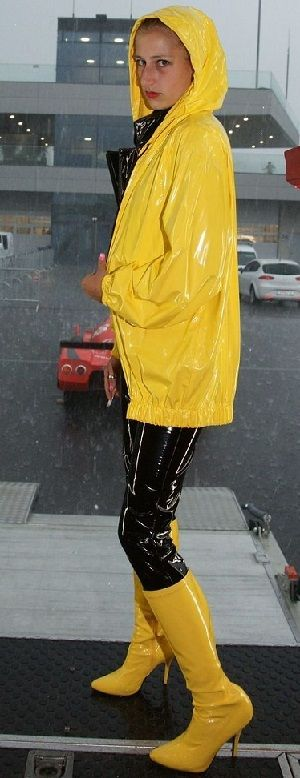 club pvc raincoat fetish p[interest and eroclubs