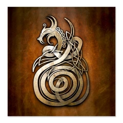 Norse Dragon by naumaddicarts