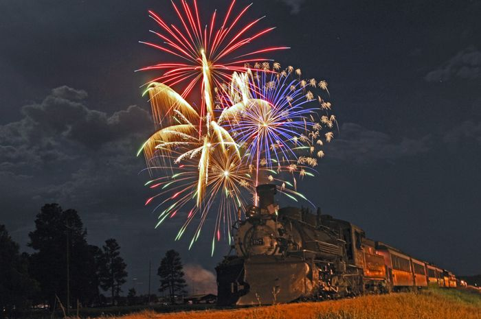 4th of July Dinner Train 5:00 P M  – Chama to Cumbres and