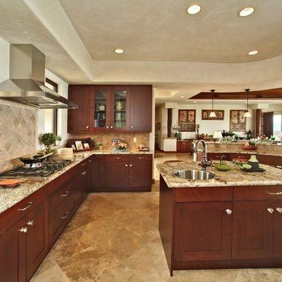 Hawaii Kitchen Granite Countertop Design Ideas Pictures